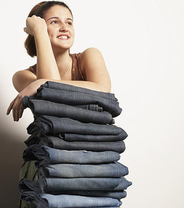 Jeans are a staple item in our wardrobe, but we often have difficulty finding a pair that fit. Photo: Getty Images
