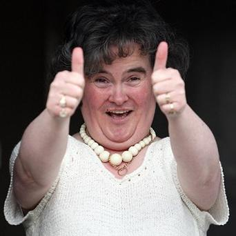 Susan Boyle has three Guinness World Records entries