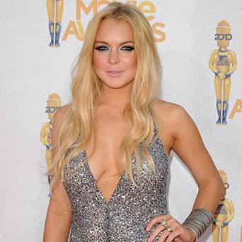 Lindsay Lohan has admitted that she failed her drug test