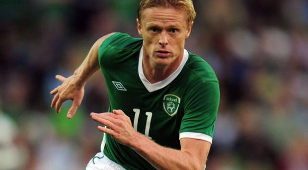 Damien Duff has been back in action for Fulham. Photo: Getty Images
