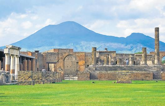 Pompeii, which provides a fascinating insight into life in 79AD