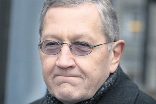 Former IMF economist Klaus Regling who carried out the probe for the Government into the collapse of Irish banking during the summer said he doesn't expect any country will need to seek financial assistance as States cut their budget deficits. Photo: Frank McGrath