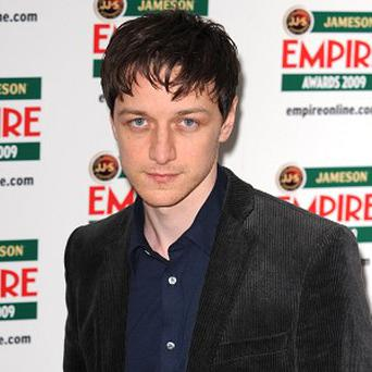 James McAvoy says he likes playing characters different to him