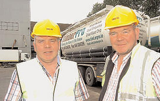 Patrick Farrelly, left, will be speaking at the Farming Independent stand on Thursday at 12.30pm. Peter Farrelly is seen right