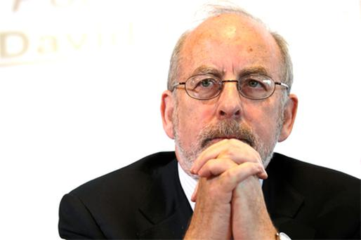 Central Bank Governor Patrick Honohan said the Government needs to cut its budget deficit at a faster pace. Photo: Bloomberg News