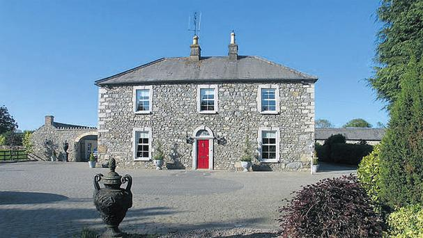 The farmhouse was recently refurbished but the original charm and character have been retained