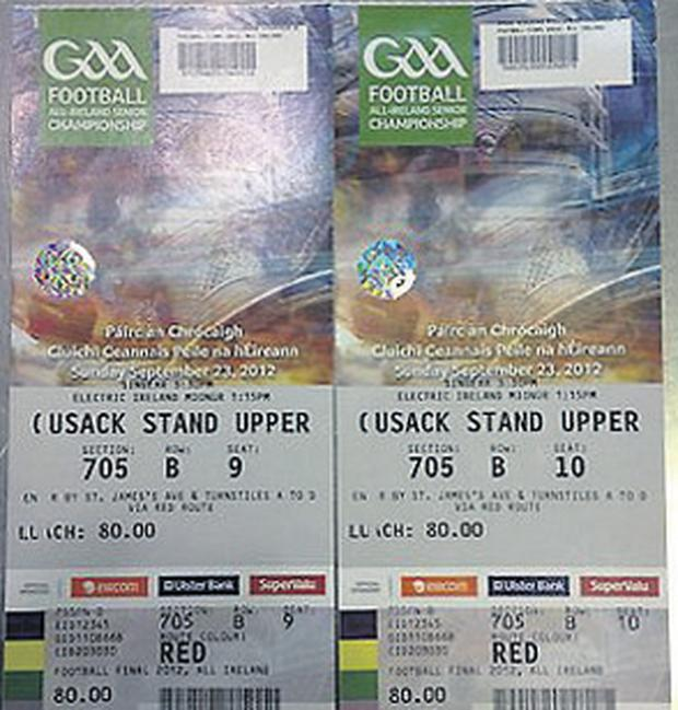 All-Ireland tickets are in demand