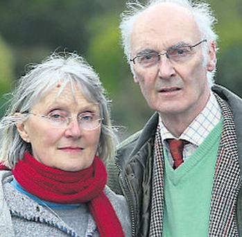 Brendan Kelly, (71) and his German-born wife Asta (63)
