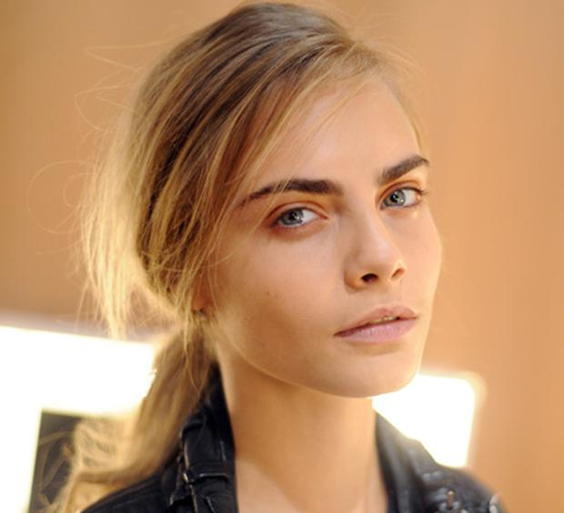 Model Cara Delevingne is a rising star in the modelling world.