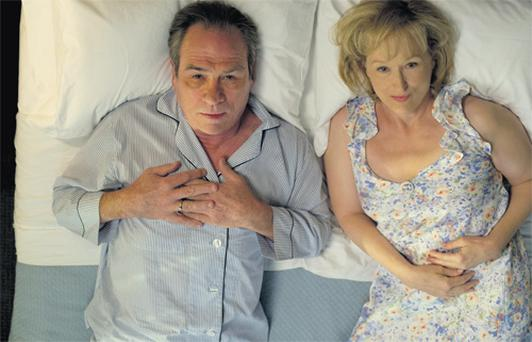 Tommy Lee Jones and Meryl Streep in their new movie, Hope Springs