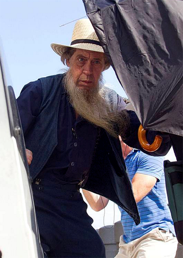 Amish women and married Amish men do not cut their hair or beards as symbols of living a religious life.