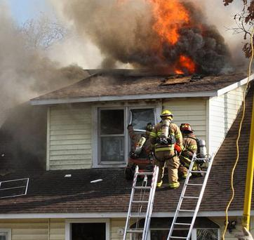 BURNING DOWN THE HOUSE: Tenants might not be as careful with a house as an owner living in situ would be