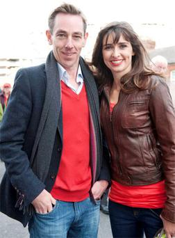 Aoibhinn Ni Shuilleabhain admits to getting a lot of advice from her boyfriend Ryan Tubridy