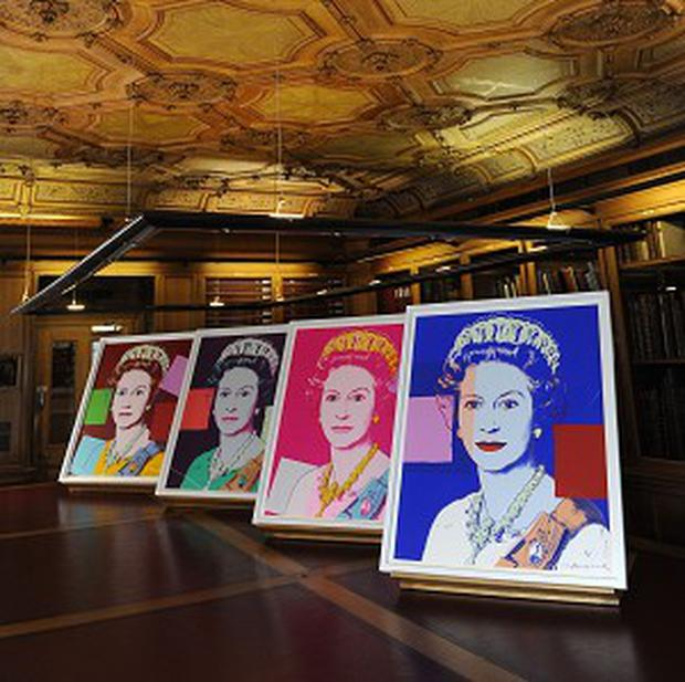 Andy Warhol's Reigning Queens: Queen Elizabeth II portraits, which have been acquired by the Royal Collection