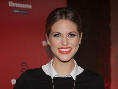 Amy Huberman at the preview of the first episode of new series of 'Threesome'