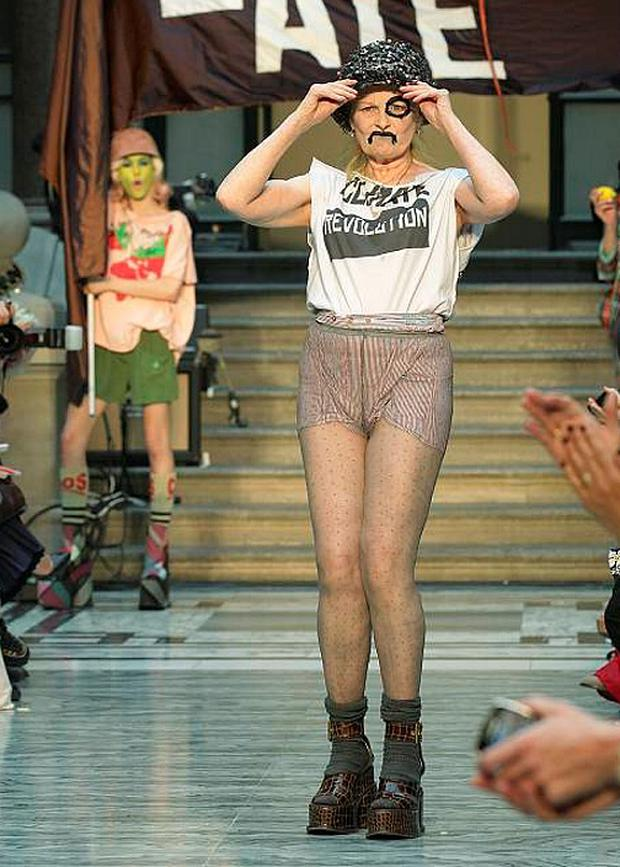 Vivienne Westwood: 'Known for her flamboyant creations'