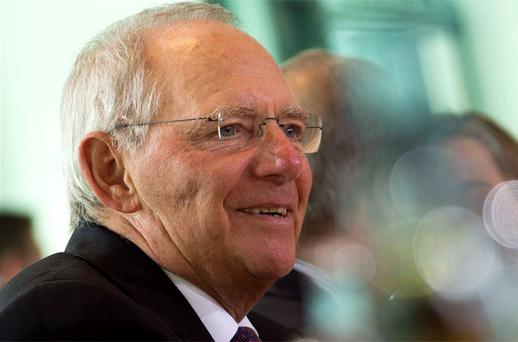 Wolfgang Schaeuble: German Finance Minister will vote to help Cyprus
