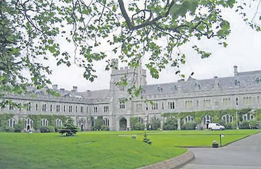 It is claimed 30 acres of UCC's 80 acre campus were submerged under water and 29 campus buildings, several student accommodation blocks and the entire Mardyke sports complex were damaged.