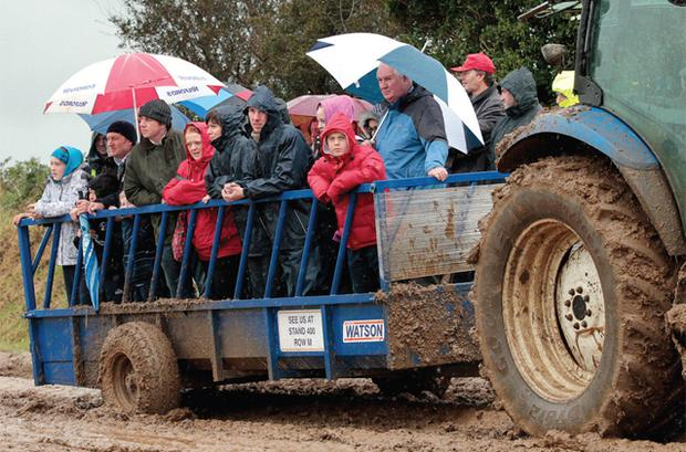 Transport at the Ploughing Championships