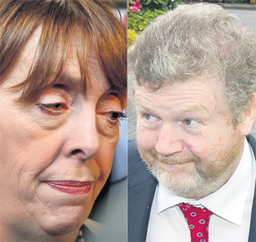Shorthall's (left) decision came just hours after a letter emerged flatly contradicting her claims of being kept in the dark by Dr Reilly (right).