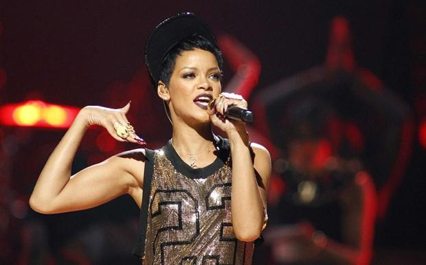 Singer Rihanna unveiled a new song, Diamonds, earlier today. Photo: Reuters
