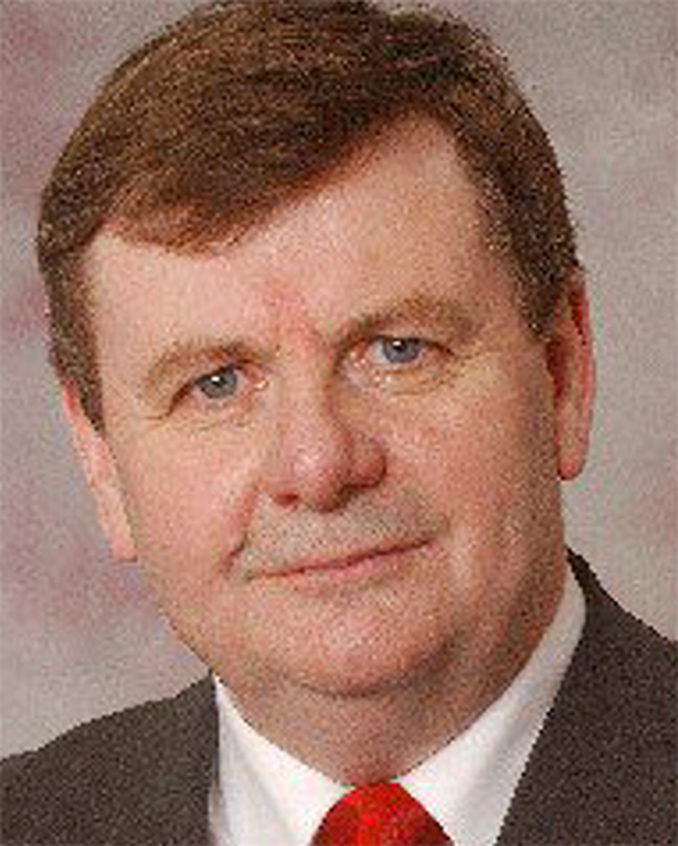 Tom Crosby, mayor of Roscommon County Council, was named after his failure to pay €30,000 arising from a civil case.