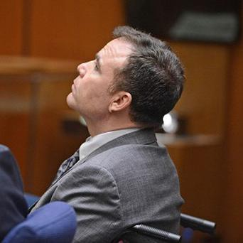 David Viens listens as a second degree murder verdict was read in Los Angeles (AP /Brad Graverson)