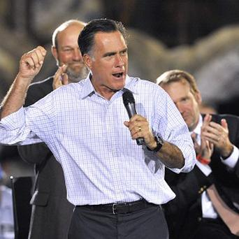 Mitt Romney speaks during a campaign stop in Ohio (AP/ David Richard)