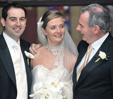 It emerged yesterday that the cake served at the 2007 wedding of former billionaire Sean Quinn's daughter Ciara to Niall McPartland cost €100,000.