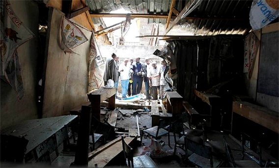 Police said that sympathisers of the Somali militant group al-Shabab were behind the attack at an Anglican church in Nairobi.