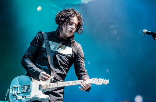 BELFORT, FRANCE - JULY 01: Jack White performs at Eurockeennes Music Festival on July 1, 2012 in Belfort, France. (Photo by David Wolff - Patrick/Getty Images)