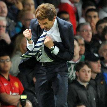 Andre Villas-Boas says Tottenham felt confident they could beat Manchester United on Saturday
