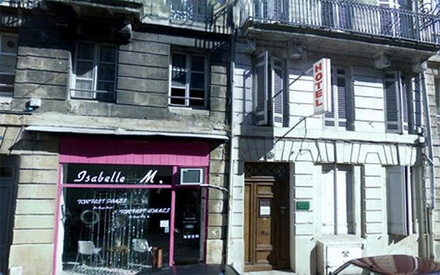 The couple is believed to have spent the six nights at the Huguerie Hotel in Bordeaux