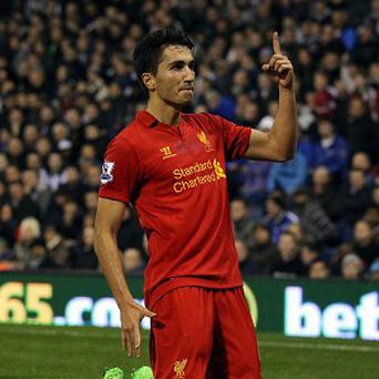 Nuri Sahin has scored three goals for Liverpool in his last two starts
