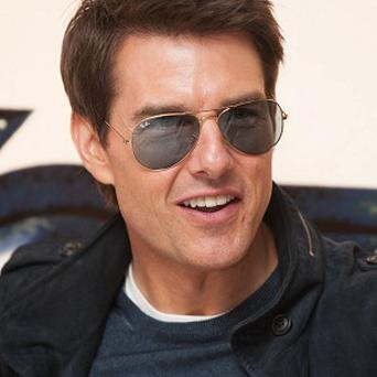 Tom Cruise has been filming his latest movie in Britain