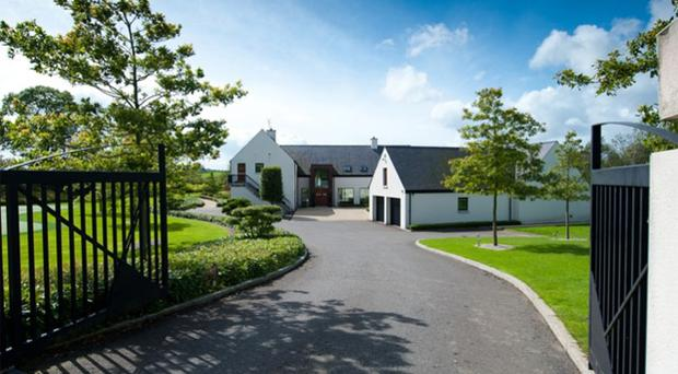 Rory McIlroy has lived in the elegant house just outside Belfast since 2009
