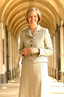 Marjorie Scardino is one of the longest serving bosses of a FTSE company.