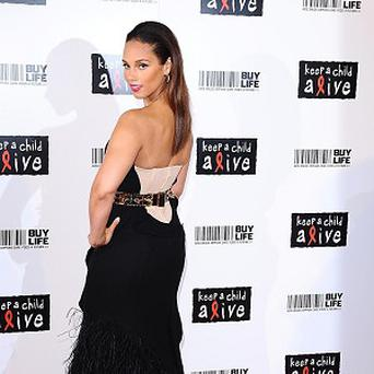 Alicia Keys will be presented with the rock star award