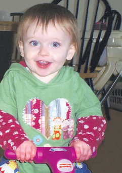 Millie died two weeks before Christmas 2009 from severe trauma to the head.