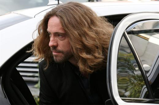 Justin Lee Collins, arrives at St Albans Crown Court in St Albans Hertfordshire. Photo: PA