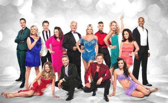 The 2012 Strictly line up.