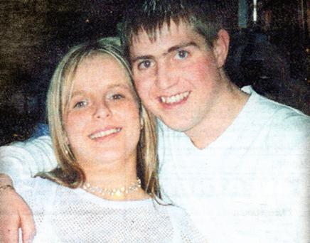 Shay O'Byrne and girlfriend Sharon Rattigan