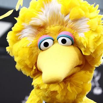 Big Bird from Sesame Street, played by actor Caroll Spinney