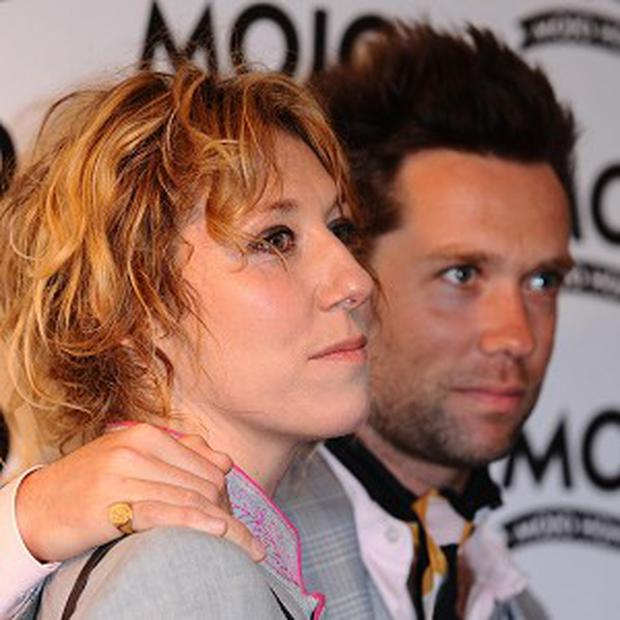Martha Wainwright pictured with brother Rufus