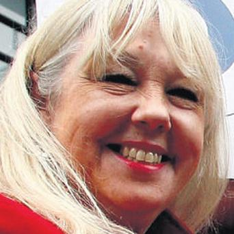 Fondled: Liz Kershaw complained about incident