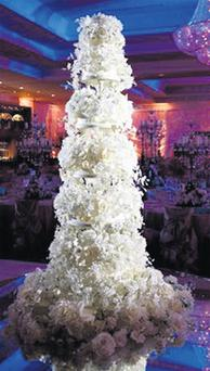 Ciara Quinn's wedding cake