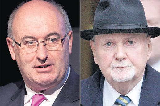'Soft loan': Phil Hogan and disgraced Michael Fingleton