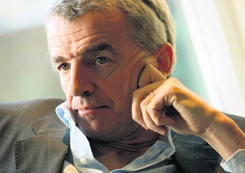 Airline boss Michael O'Leary likes to play the bad boy of Irish business and has spent years carefully promoting himself and Ryanair as part of the same bargain