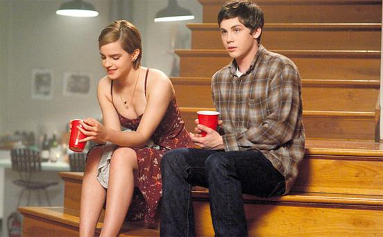 Emma Watson and Logan Lerman in 'The Perks of Being a Wallflower'