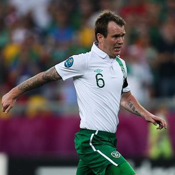 Glenn Whelan is an injury concern for Ireland